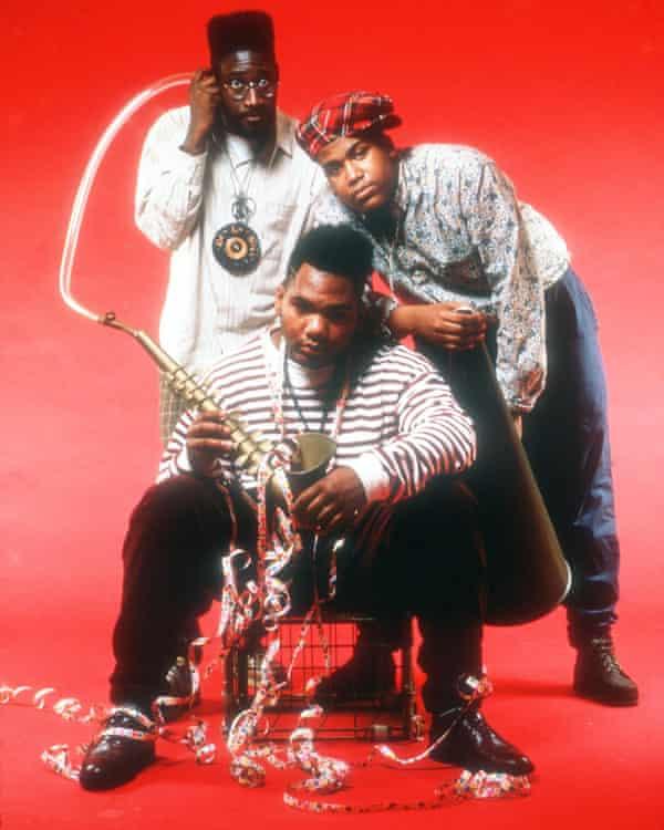 De La Soul in 1990.