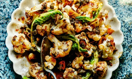 Omar Allibhoy's recipe for cauliflower with garlic, vinegar and capers