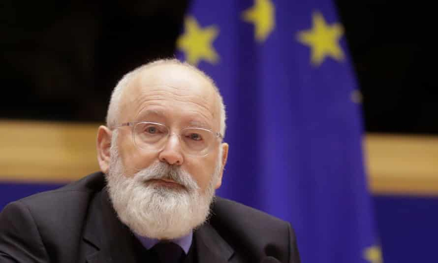 Frans Timmermans is the EU's top official on climate action.