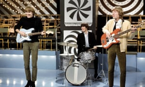 John, Gary and Scott Walker performing on TV show Thank Your Lucky Stars.