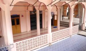 The mosque near Sungai Golok where 11-year-old Ayu married 41-year-old Che Abdul Karim.