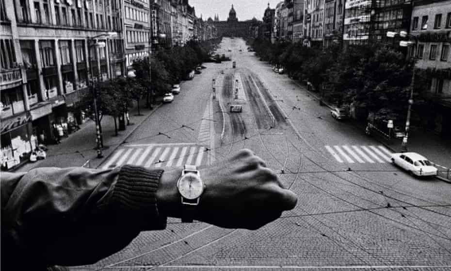 Time stopped and the tanks rolled in … Josef Koudelka's Hand and Wristwatch, August 1968.