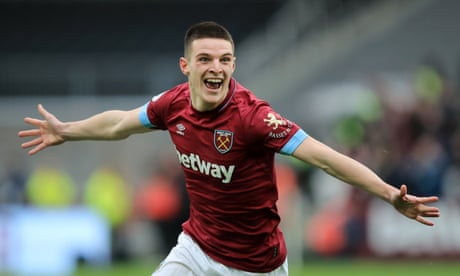 Declan Rice gets England call-up and praise from Gareth Southgate