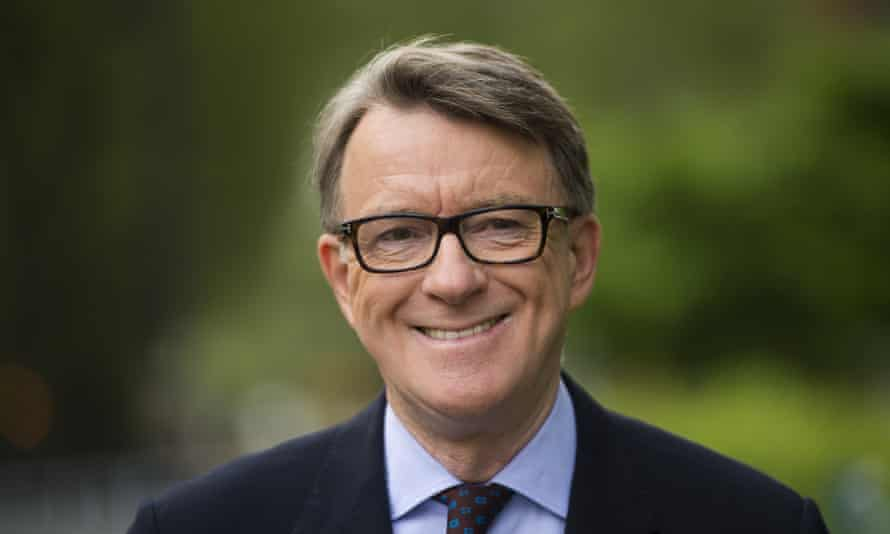 Peter Mandelson … 'intensely relaxed' about everybody getting rich (including himself).