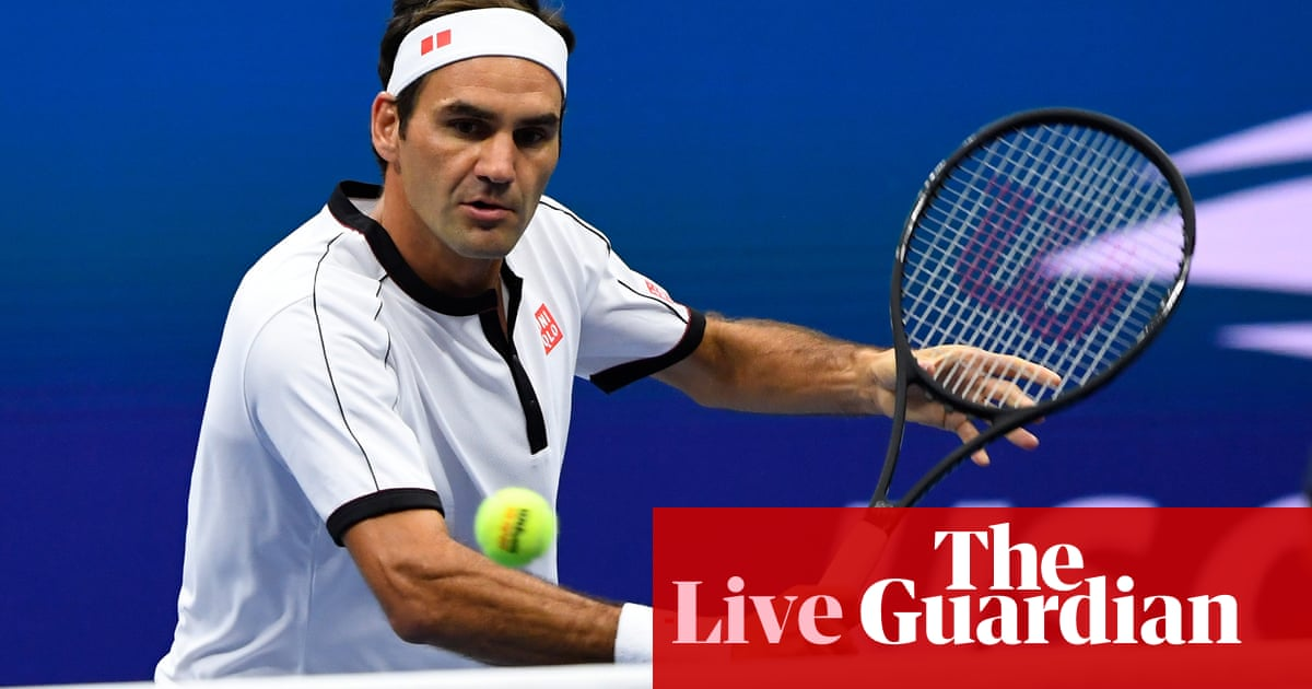 US Open 2019: Federer and Nishikori in action, Konta delayed by rain – live!