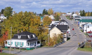 canadian town