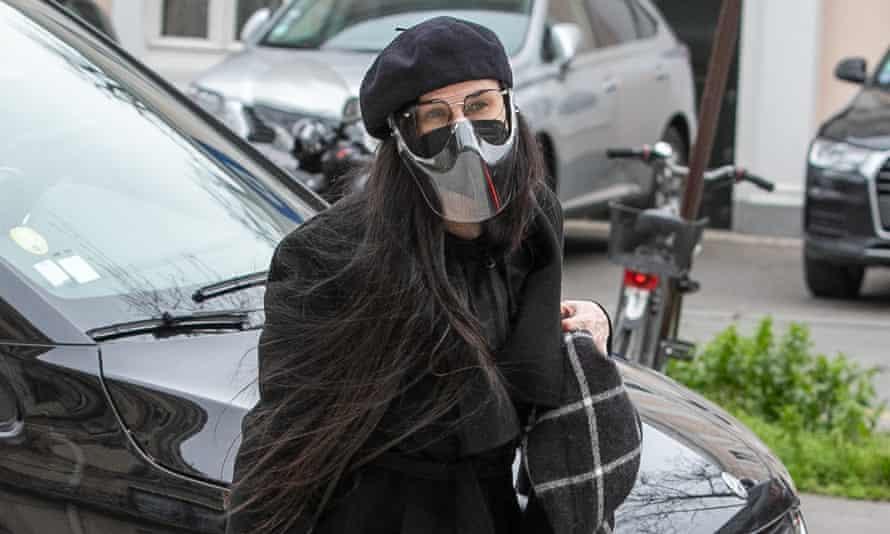 Demi Moore in Paris this week.