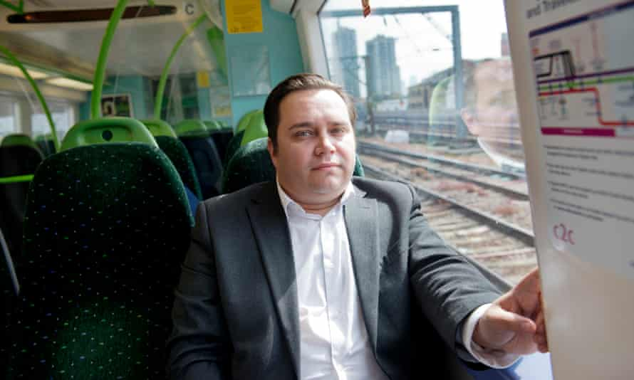 Commuter James Savill has become a vocal campaigner about conditions on the c2c line.