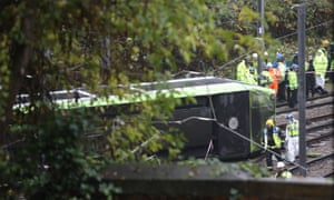 An interim report into the crash said the tram was travelling at 46mph as it entered the bend, which had a 13mph limit.