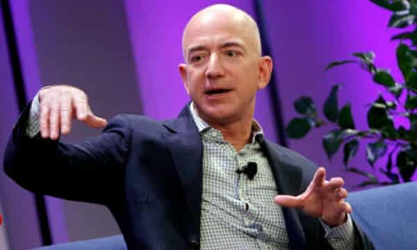 Amazon boss Jeff Bezos.