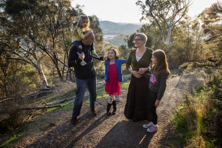 The Mitry family in Canberra