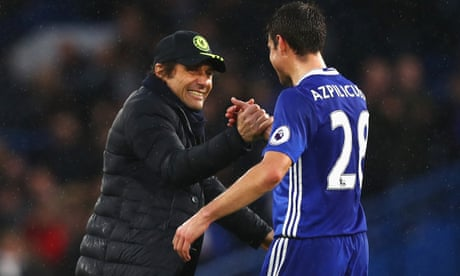 Antonio Conte says trophy-winning experience fuelling Chelsea's title charge