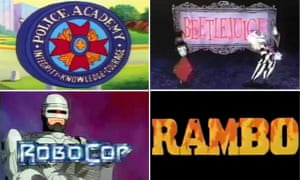 Animated spin-off shows of the past.