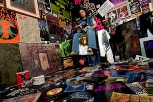 Black Sabbath superfan Chris Hopkins.