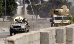 Fighters from the UN-backed government clash with Khalifa Haftar's forces