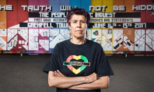 Moyra Samuels is one of the principle founders behind the Justice4Grenfell campaign.