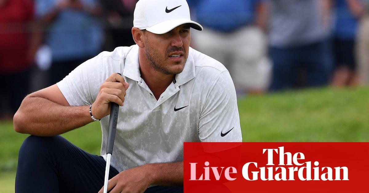US Open golf 2021: first round – live!
