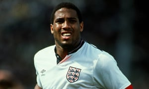 John Barnes, representing England in 1988: 'A leave vote now says that we don't really care about anyone else.'