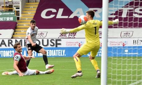 Sheffield United grateful to Egan after Tarkowski puts Burnley in front