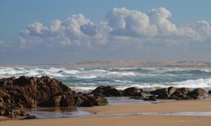 Stockton beach, between Newcastle and Port Stephens