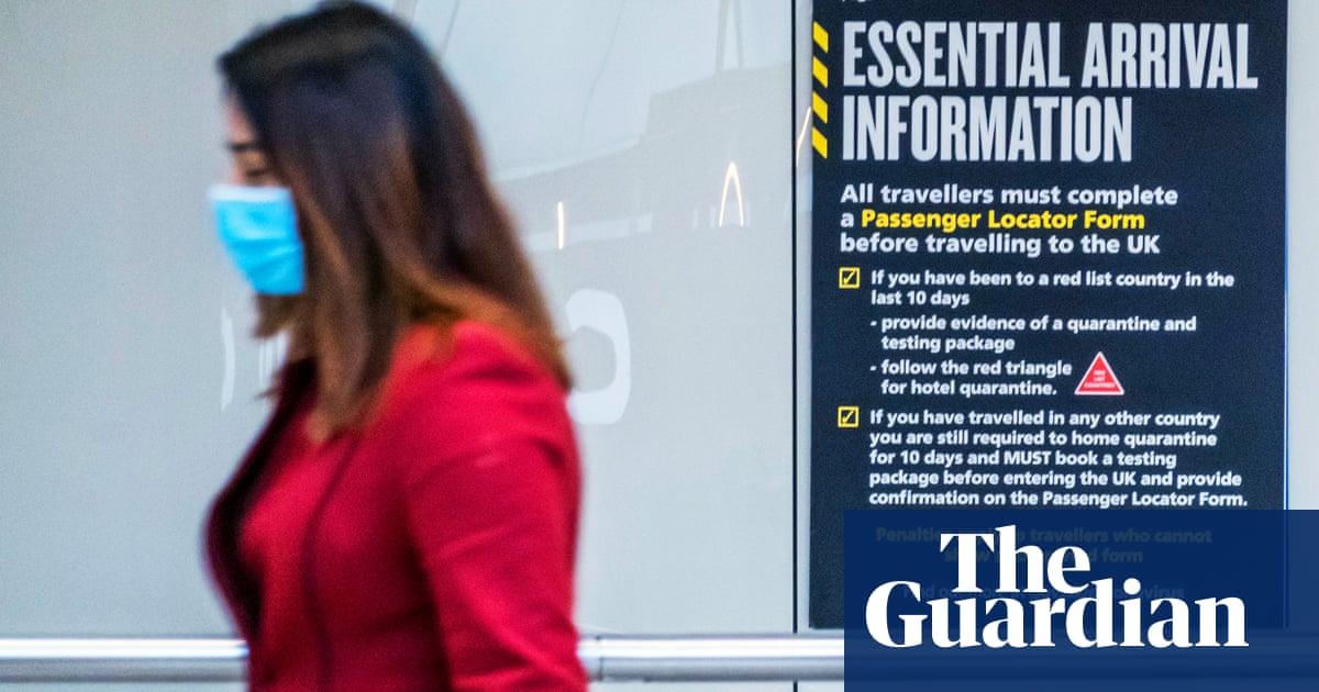 UK to slash international travel 'red list' to just nine countries