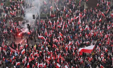 Warsaw march.