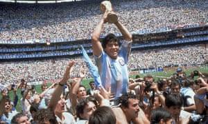 'Take a right on to Maradona Drive …'