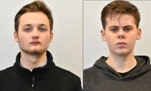 Michal Szewczuk and Oskar Dunn-Koczorowsk