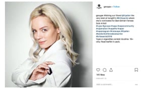 One of the Vype Instagram posts which featured Lily Allen promoting e-cigarettes.