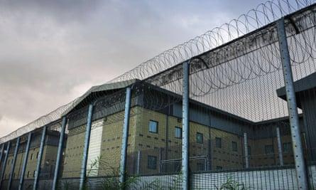Harmondsworth removal centre near Heathrow
