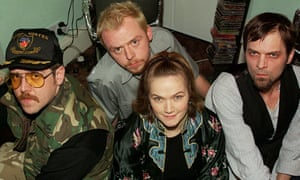 Spaced Nick Frost, Simon Pegg, Jessica Stevenson and Mark Heap