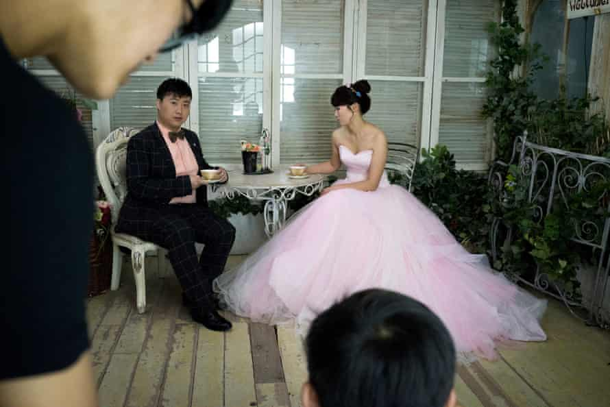 """Only Photo is a pre-wedding photography studio in an industrial park just out of Shanghai, with three floors of """"old world"""" romantic and fantasy sets"""