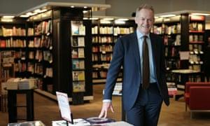 James Daunt, managing director of Waterstones.