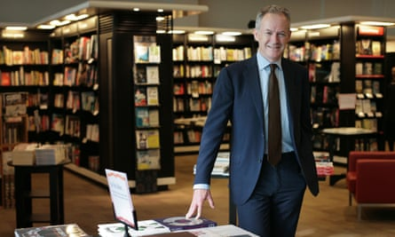 'Our booksellers can be proud' … James Daunt, chief executive of Waterstones.