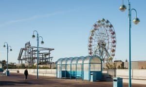 The Skegness Esplanade and Tower Gardens, Lincolnshire.