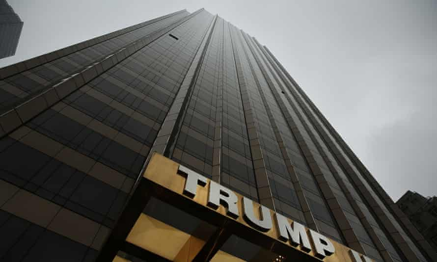 A Trump hotel in Manhattan, New York