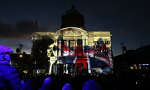 Projections of Hull's history in the city.