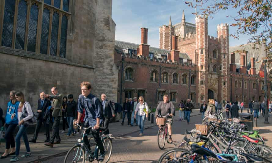 'BTecs don't provide an appropriate preparation for most courses, where the emphasis is more academic than vocational,' says Cambridge University.