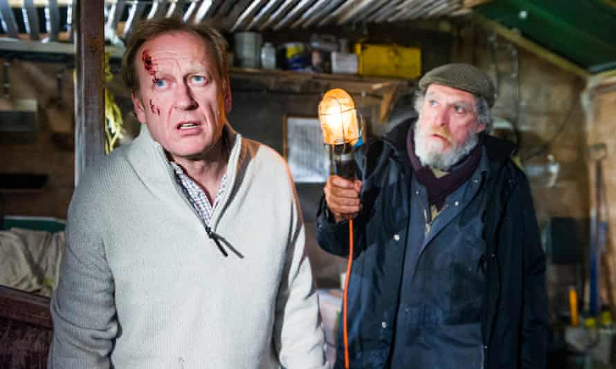 Nigel Hastings and David Fielder in And Then Come The Nightjars.