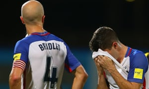 Michael Bradley and Christian Pulisic: not coming to a World Cup game near you anytime soon