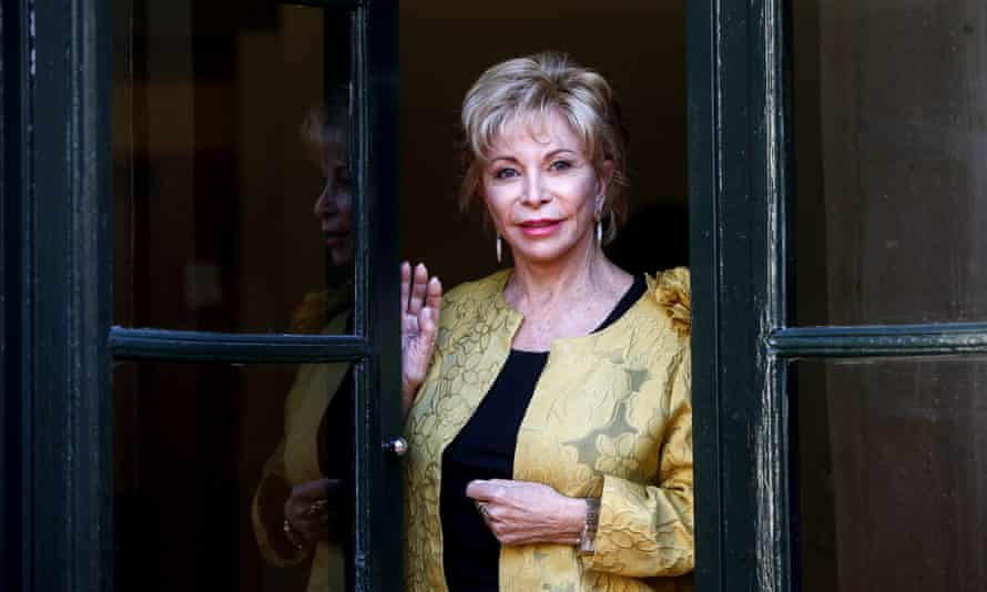 Isabel Allende: 'examines cultural dislocation and the impact of political upheaval'.