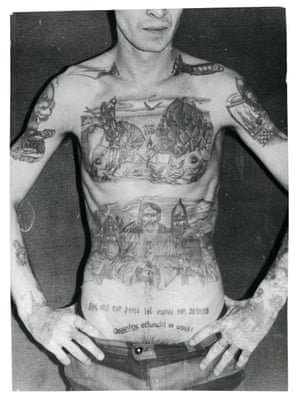 The trousers worn by this inmate are part of the uniform of a special regime colony