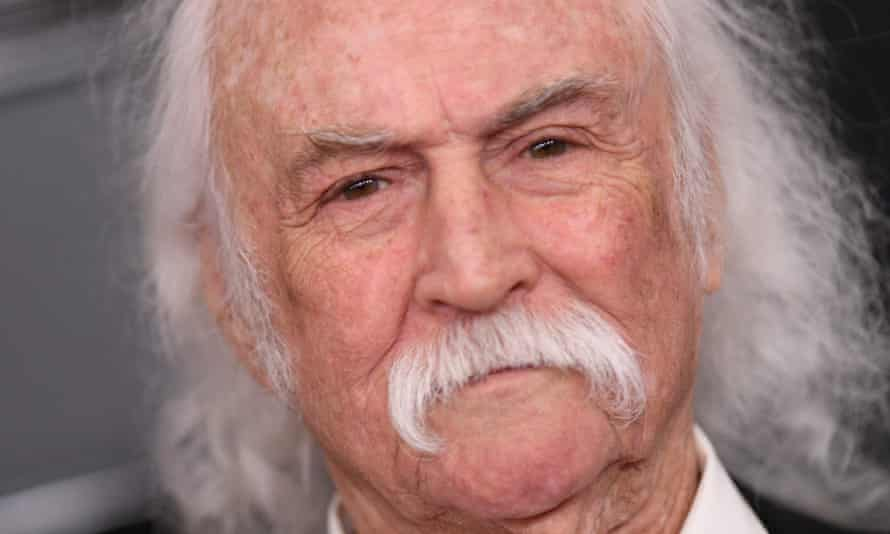'I can't work … and streaming stole my record money' ... David Crosby at the Grammy awards, Los Angeles, 26 January 2020.