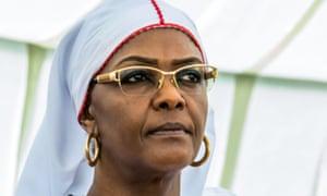 Zimbabwe first lady Grace Mugabe