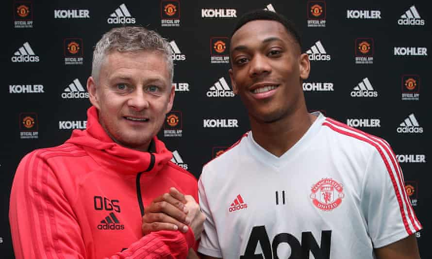 Manchester United's caretaker manager, Ole Gunnar Solskjær, believes Anthony Martial has 'fantastic potential'.