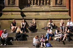 Manchester People relaxing