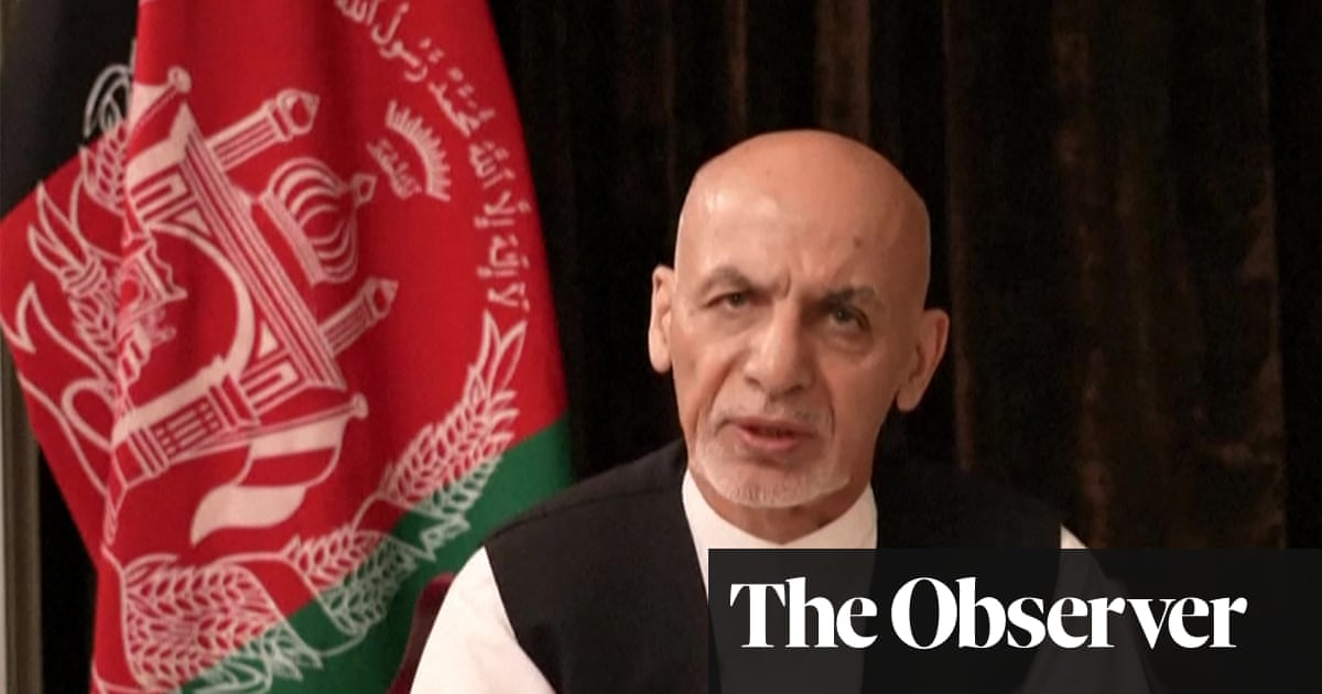 Ghani's hasty departure leaves anger and bitterness in its wake