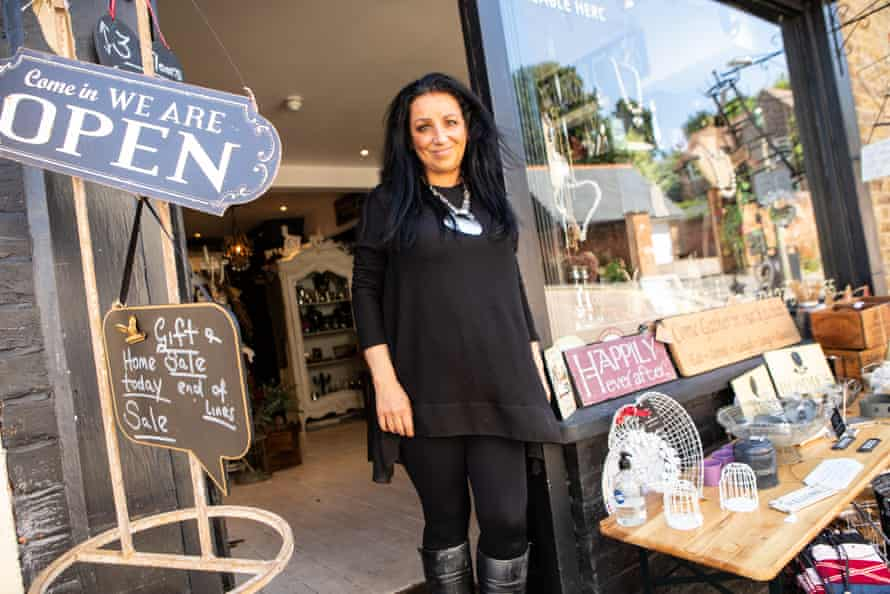 Carla Marshall, owner of Carla's Curios and Creations in Bishop's Stortford