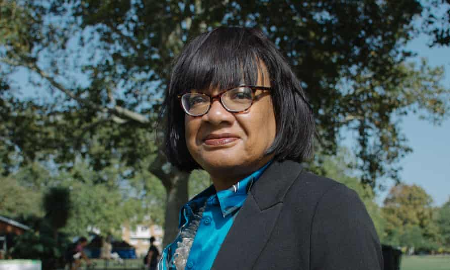 'A long-awaited chance to tell my own story' … Diane Abbott.