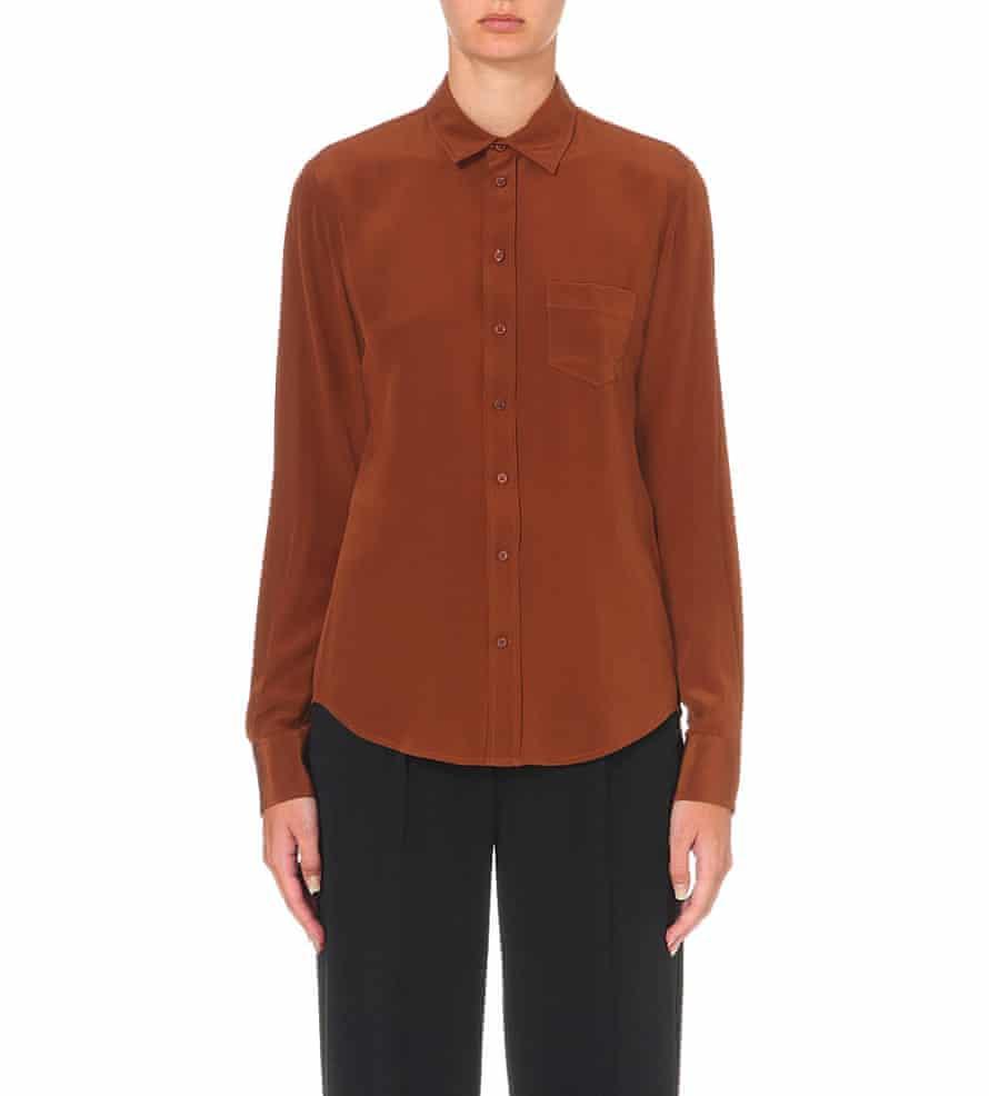 Silk shirt from Joseph.
